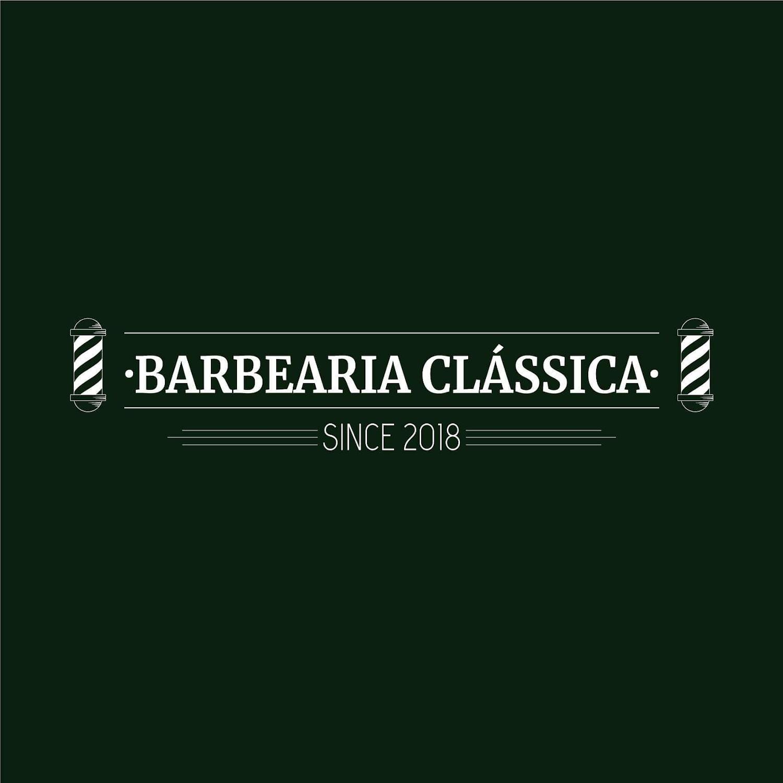 Barbearia Clássica - Logótipo