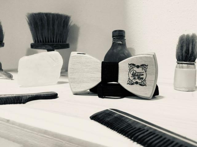 Pormenor das instalações da Barbearia do Mini