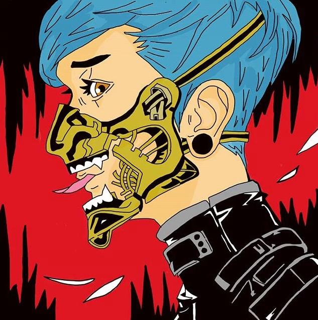 Ilustração criada pela Blue-Oni Studios