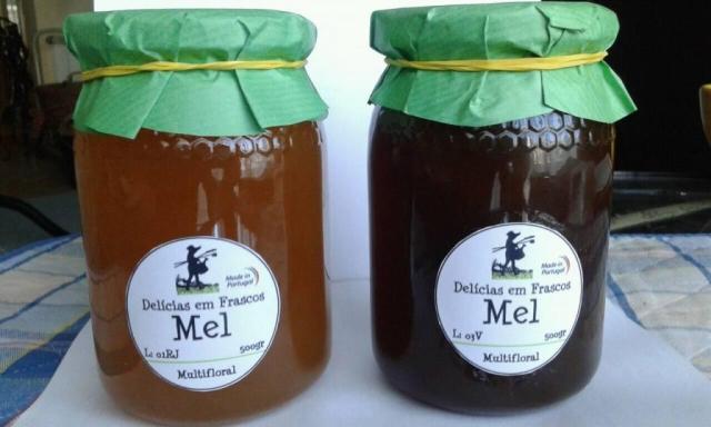 Delicias em Frascos - Mel
