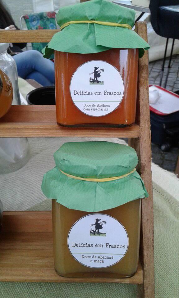 Delicias em Frascos - Doce de Abóbora, abacaxi e maçã