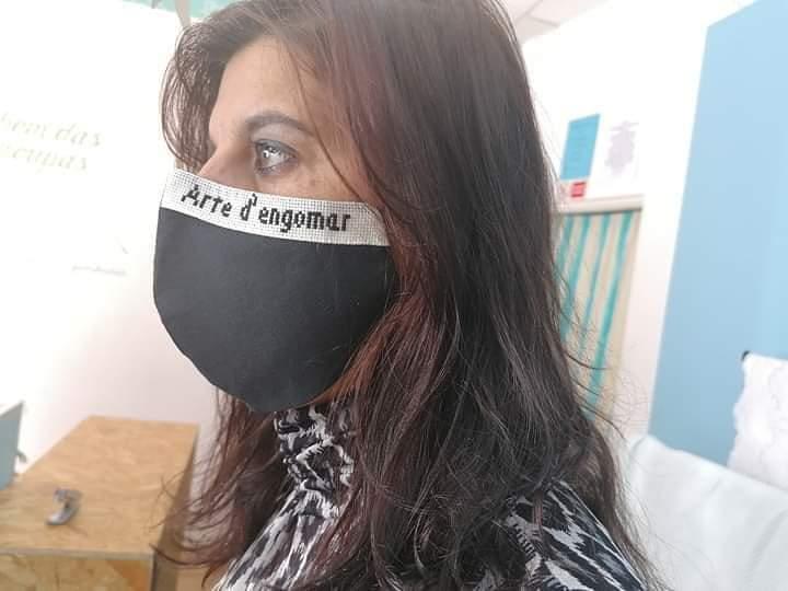 Mascara protetora personalizada
