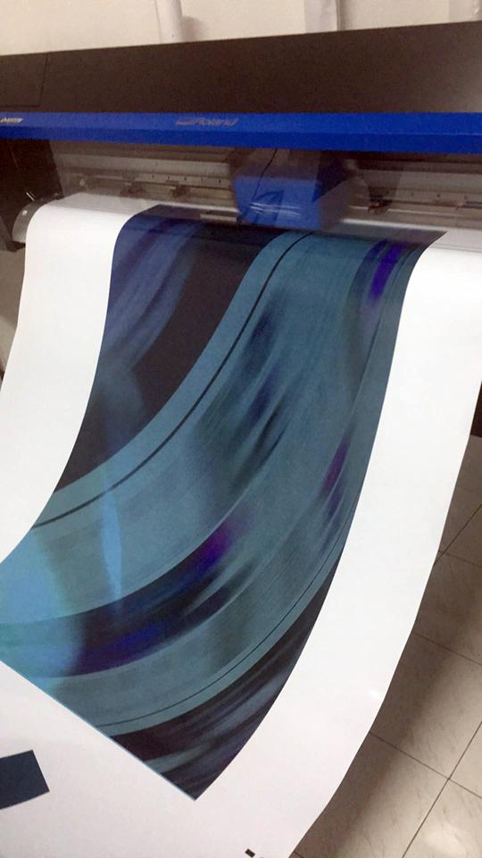 Impressão de vinil