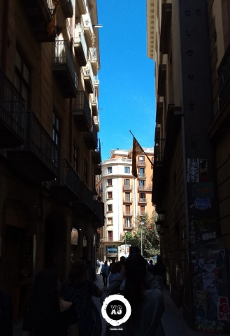 Rua de uma cidade